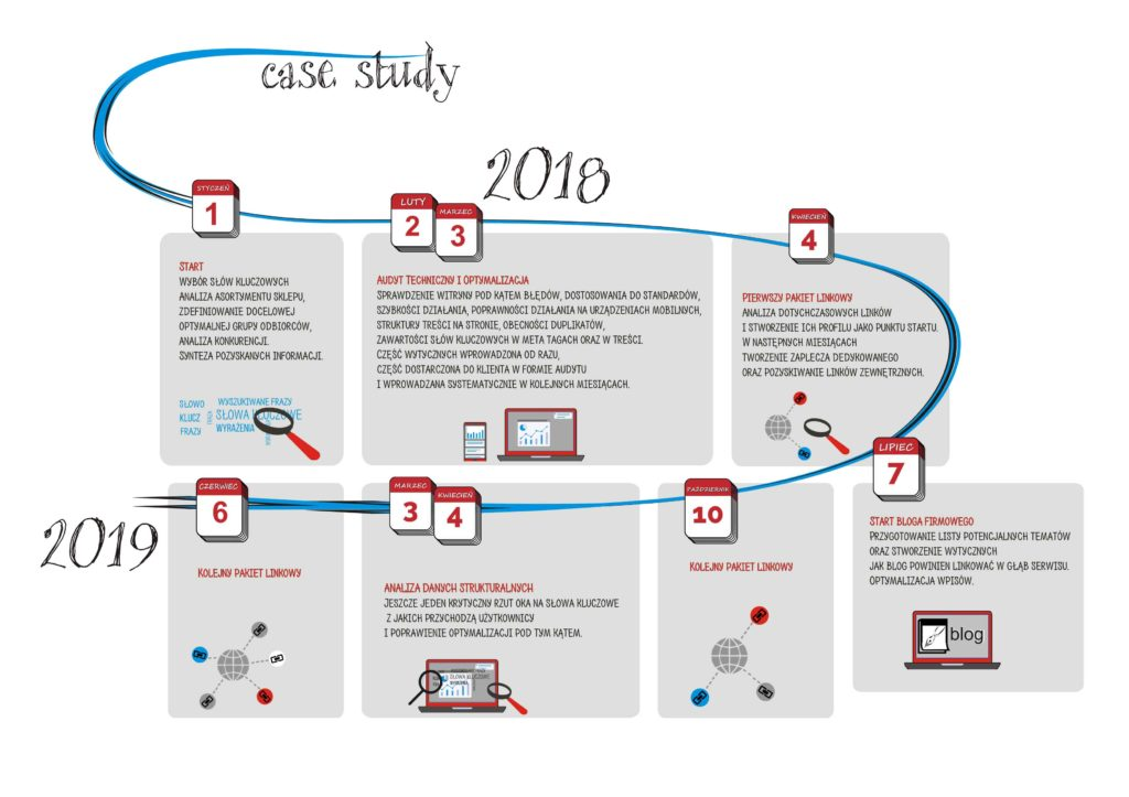 Case study pozycjonowania sklepu internetowego